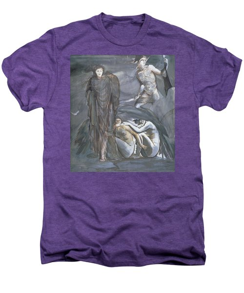 The Finding Of Medusa, C.1876 Men's Premium T-Shirt by Sir Edward Coley Burne-Jones