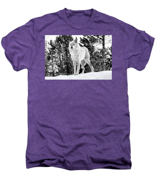 The Wolf  Men's Premium T-Shirt