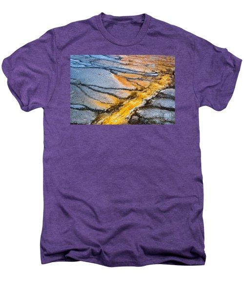 Yellowstone Abstract Men's Premium T-Shirt
