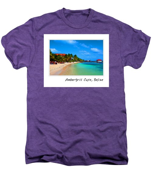 Ambergris Caye Belize Men's Premium T-Shirt