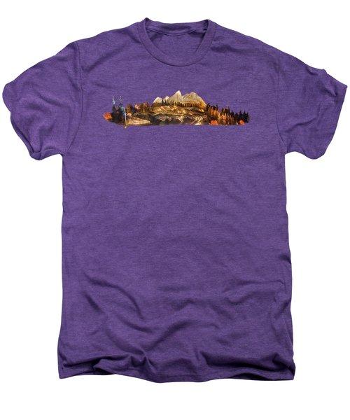 Mirror Finish Men's Premium T-Shirt