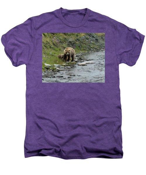 A Walk Along The Creek Men's Premium T-Shirt