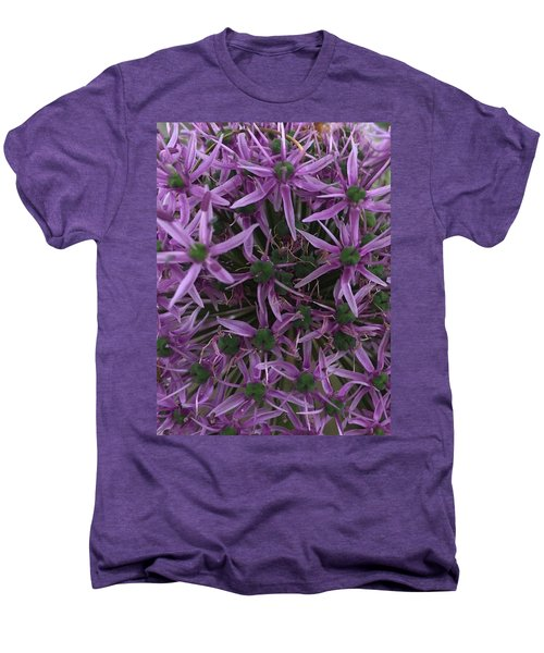Allium Stars  Men's Premium T-Shirt by Kathy Spall
