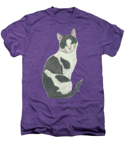 An Elegant Tuxedo Cat Men's Premium T-Shirt