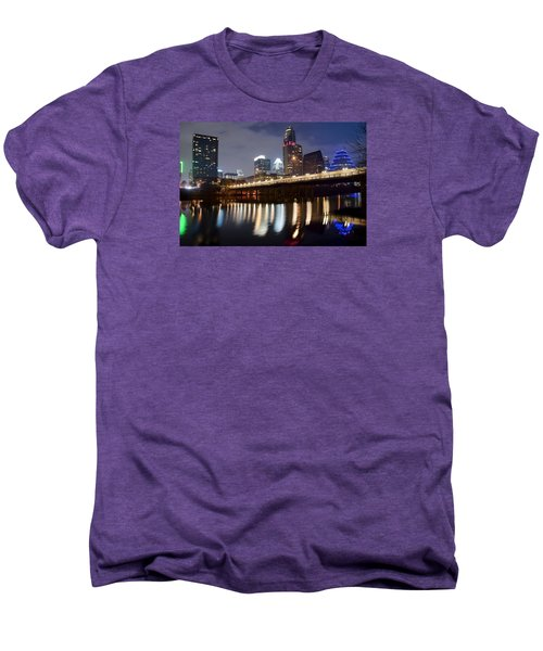 Austin From Below Men's Premium T-Shirt by Frozen in Time Fine Art Photography
