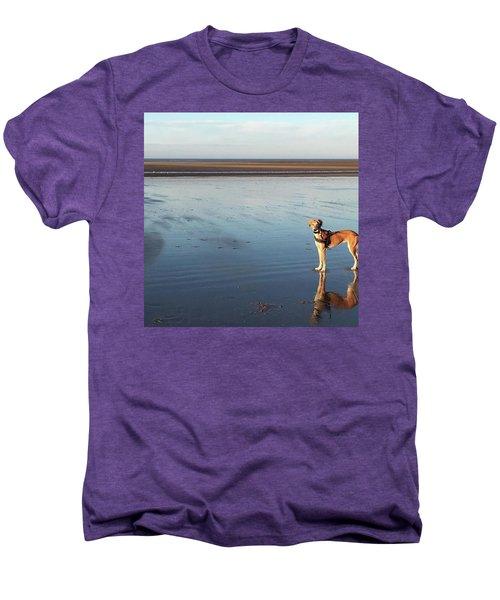 Ava's Last Walk On Brancaster Beach Men's Premium T-Shirt