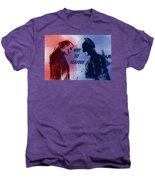 Batman And Joker Men's Premium T-Shirt
