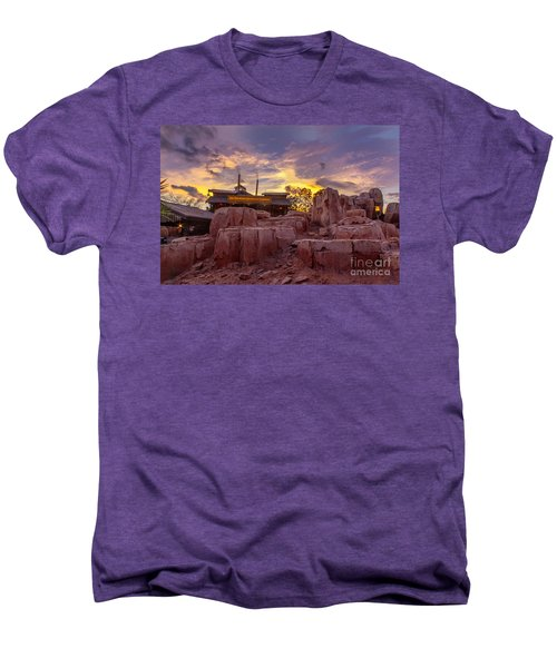 Big Thunder Mountain Sunset Men's Premium T-Shirt