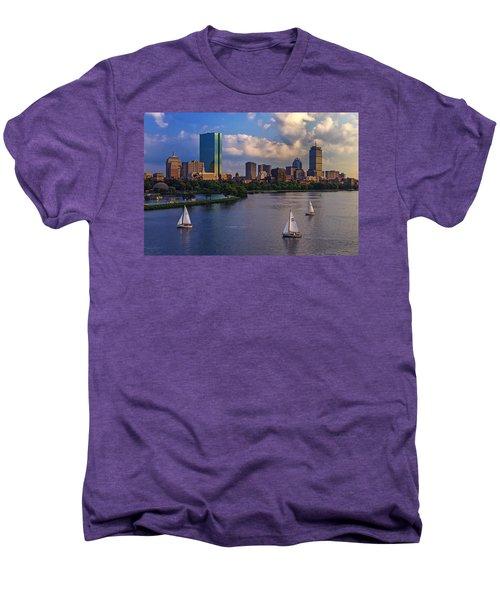 Boston Skyline Men's Premium T-Shirt