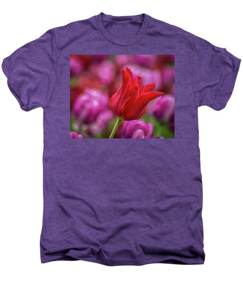 Men's Premium T-Shirt featuring the photograph Brazenly Delicate by Bill Pevlor