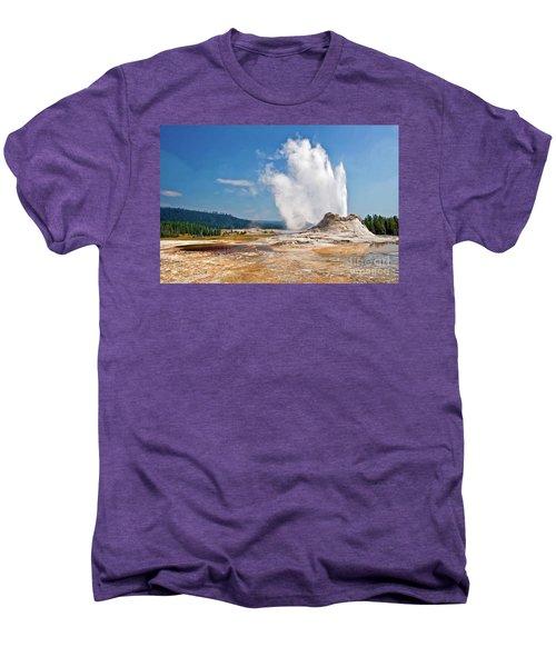 Castle Geyser Men's Premium T-Shirt