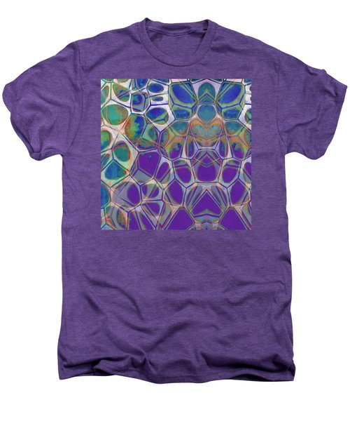 Cell Abstract 17 Men's Premium T-Shirt