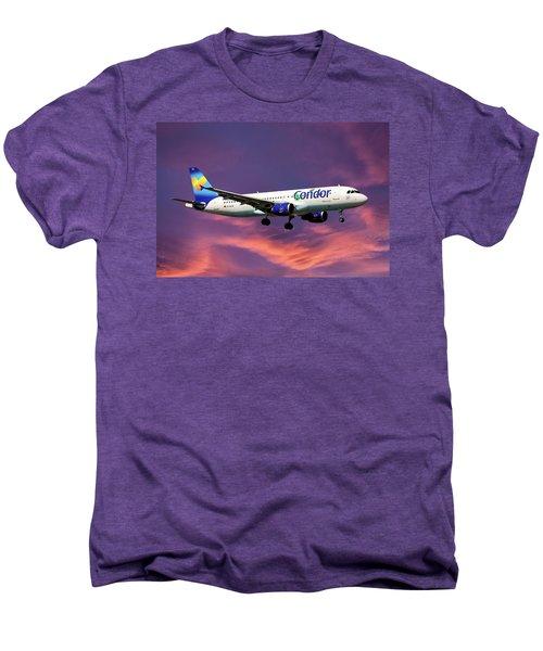 Condor Airbus A320-212 Men's Premium T-Shirt
