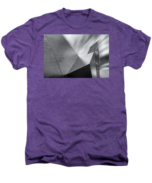 Men's Premium T-Shirt featuring the photograph Contemporary Architecture Of The Shops At Crystals, Aria, Las Ve by Adam Romanowicz