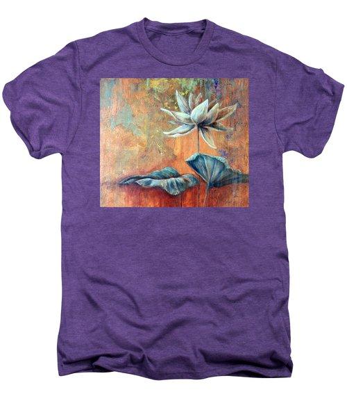 Copper Lotus Men's Premium T-Shirt
