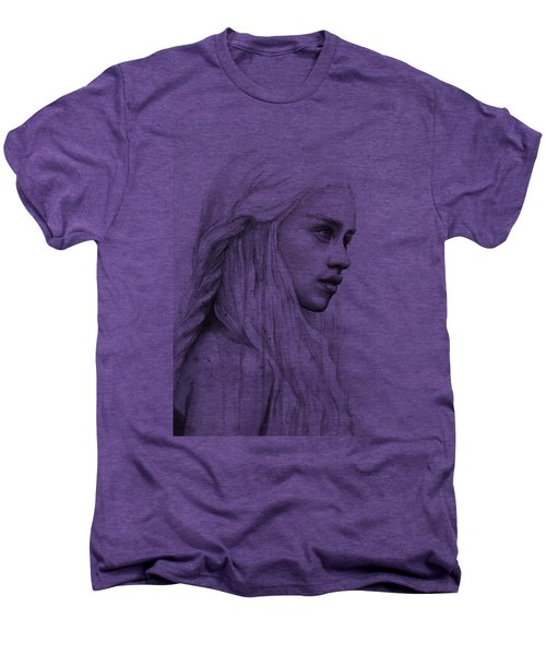 Daenerys Watercolor Portrait Men's Premium T-Shirt