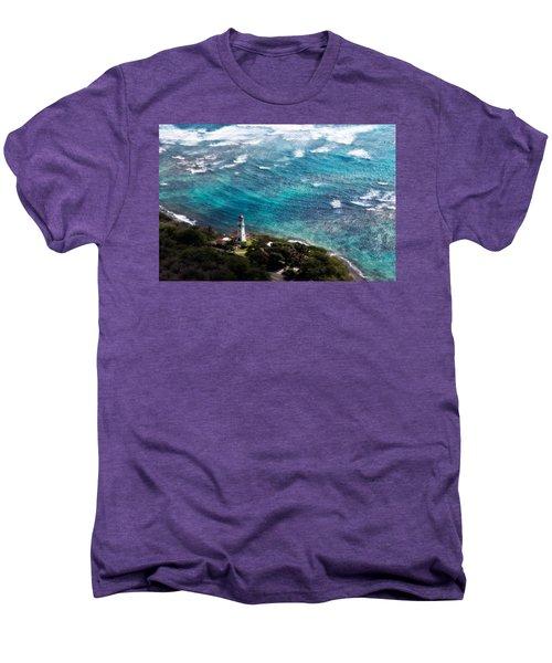 Diamond Head Lighthouse Men's Premium T-Shirt