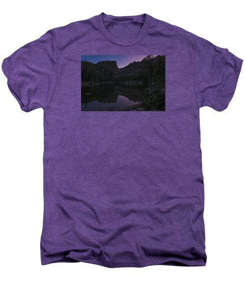 Men's Premium T-Shirt featuring the photograph Dream Lake Reflections by Gary Lengyel