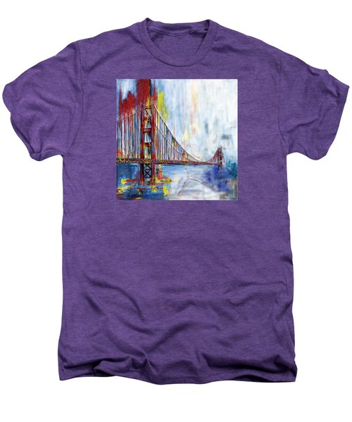 Golden Gate Bridge 218 1  Men's Premium T-Shirt by Mawra Tahreem