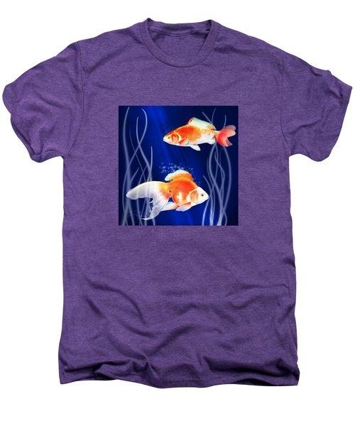 Goldfish Aglow Men's Premium T-Shirt