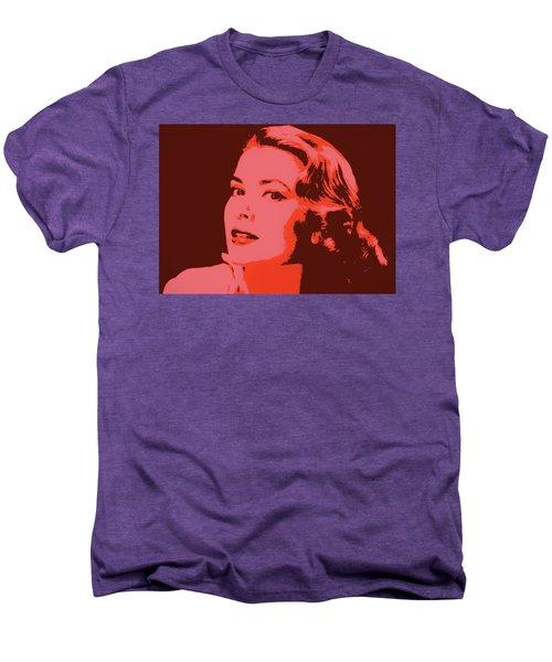 Grace Kelly Pop Art Men's Premium T-Shirt
