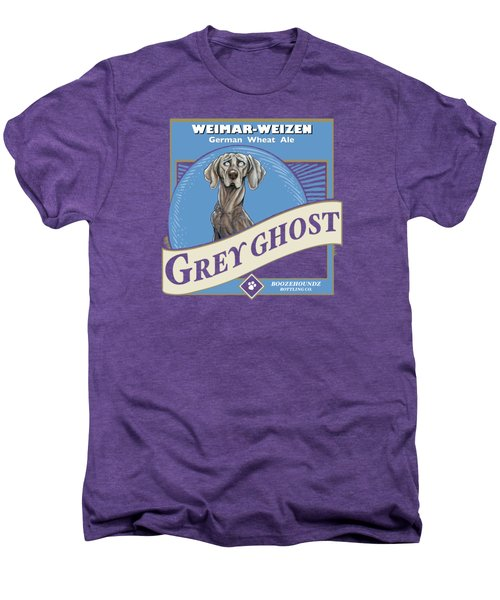 Grey Ghost Weimar-weizen Wheat Ale Men's Premium T-Shirt