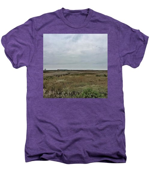 It's A Grey Day In North Norfolk Today Men's Premium T-Shirt