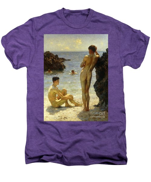 Lovers Of The Sun Men's Premium T-Shirt