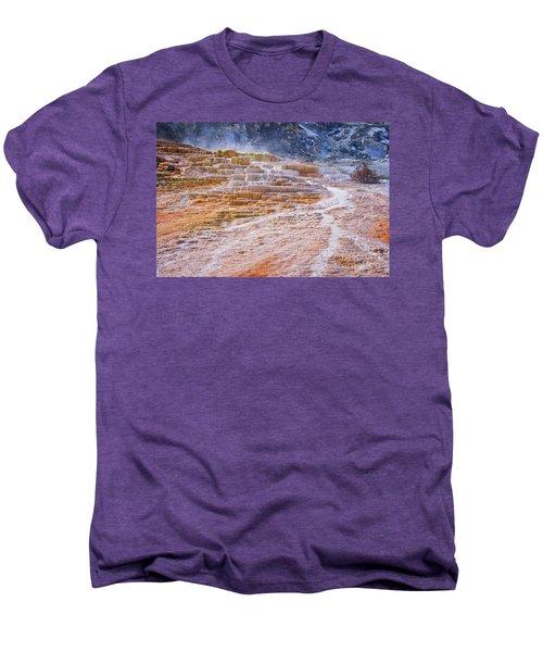 Mammoth Terraces Of Yellowstone Men's Premium T-Shirt