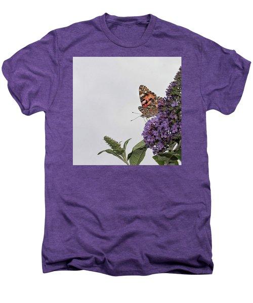 Painted Lady (vanessa Cardui) Men's Premium T-Shirt