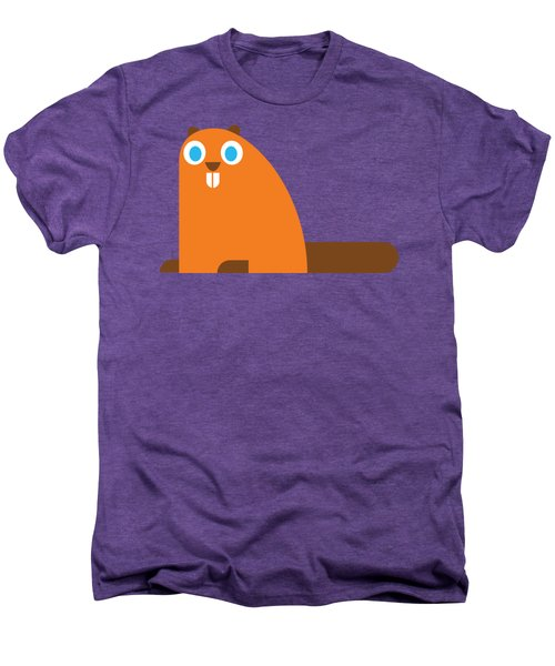 Pbs Kids Beaver Men's Premium T-Shirt by Pbs Kids