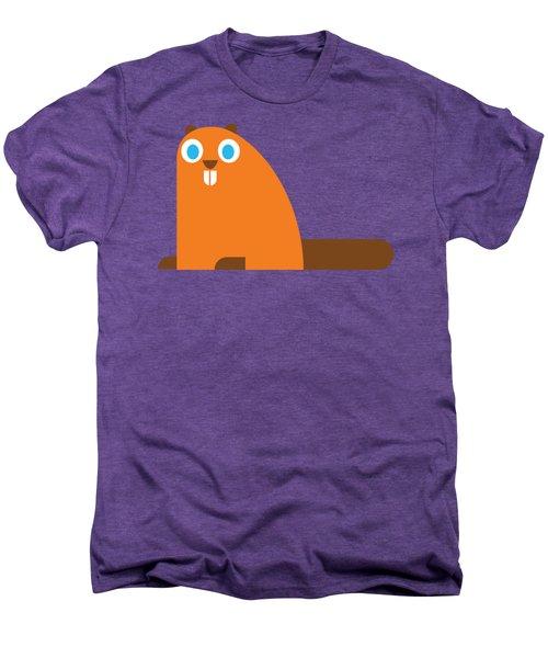 Pbs Kids Beaver Men's Premium T-Shirt by Pbs Kids