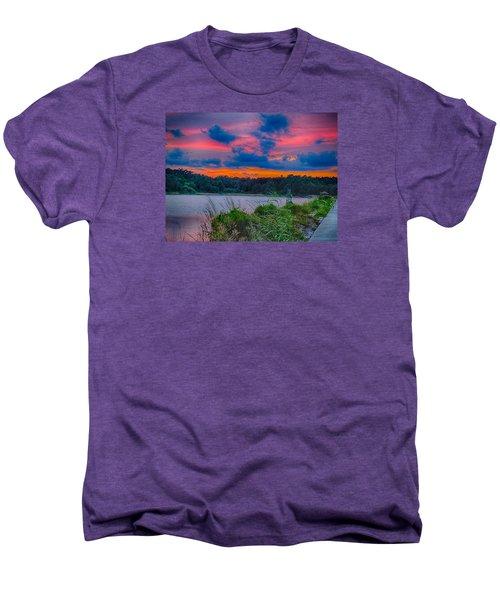 Pre-sunset At Hbsp Men's Premium T-Shirt