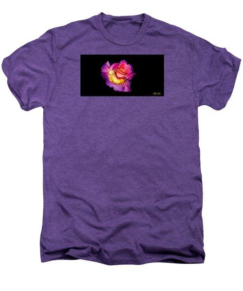 Rain-melted Rose Men's Premium T-Shirt