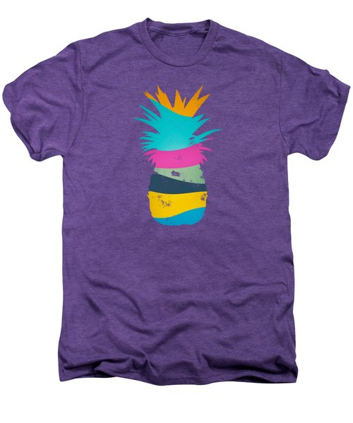Sliced Ananas, Pineapple Men's Premium T-Shirt