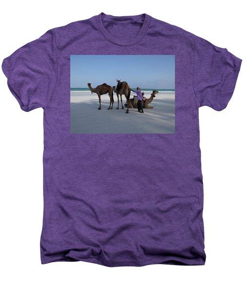 Stubborn Wedding Camels Men's Premium T-Shirt