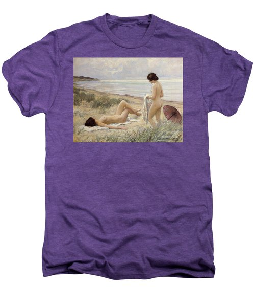 Summer On The Beach Men's Premium T-Shirt