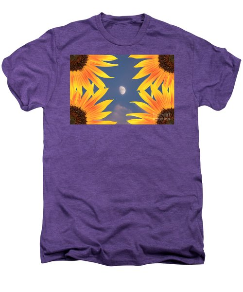 Sunflower Moon Men's Premium T-Shirt by James BO  Insogna