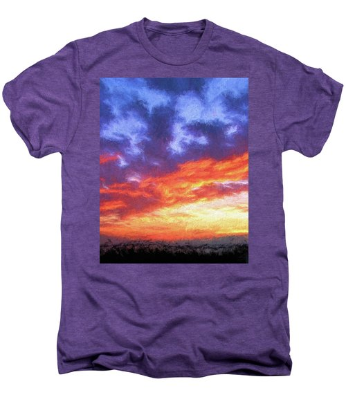 Sunset In Carolina Men's Premium T-Shirt