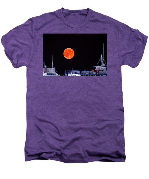 Super Moon Over Crazy Sister Marina Men's Premium T-Shirt