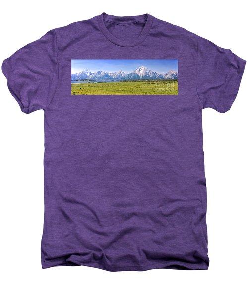 Teton Panorama Men's Premium T-Shirt