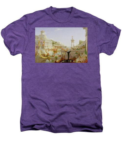 The Course Of Empire - The Consummation Of The Empire Men's Premium T-Shirt