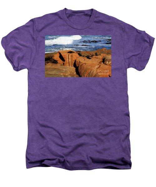 The Lazy Lounging Seals Men's Premium T-Shirt