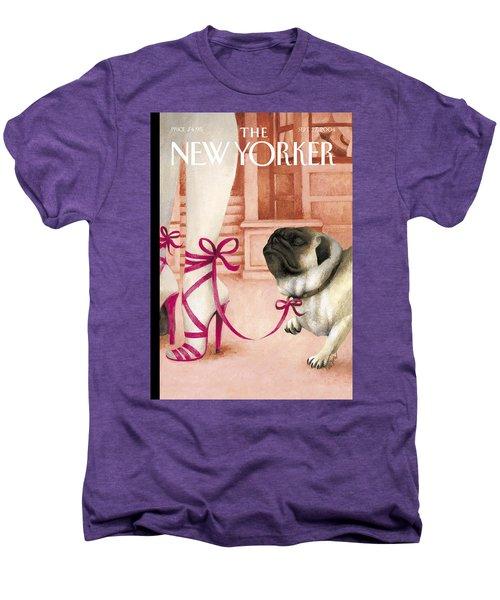 The New Yorker Cover - September 27th, 2004 Men's Premium T-Shirt
