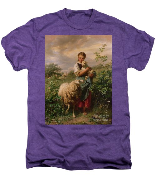 The Shepherdess Men's Premium T-Shirt