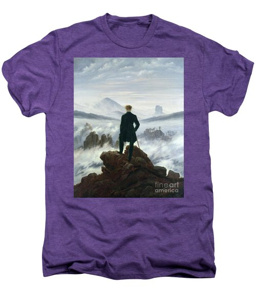 The Wanderer Above The Sea Of Fog Men's Premium T-Shirt
