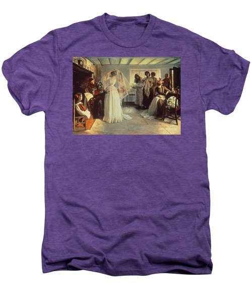The Wedding Morning Men's Premium T-Shirt