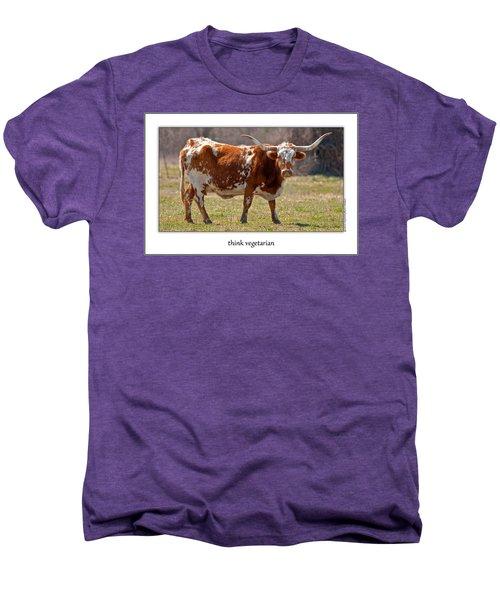 Think Vegetarian Men's Premium T-Shirt