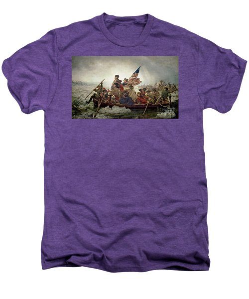 Washington Crossing The Delaware River Men's Premium T-Shirt