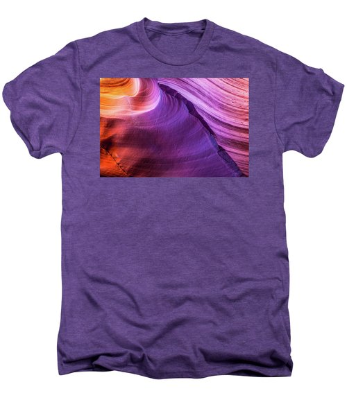 Waterhole Canyon Wave Men's Premium T-Shirt